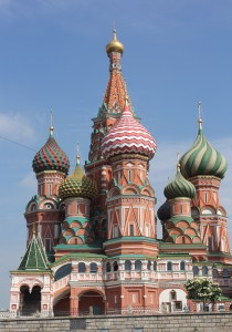 St. Basil's on Red Square, from the FFNCA visit to Moscow in 2013.